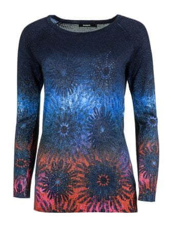 Desigual dámský svetr Carlin XL tmavě modrá