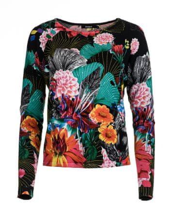 Desigual ženski pulover Hawai L črna