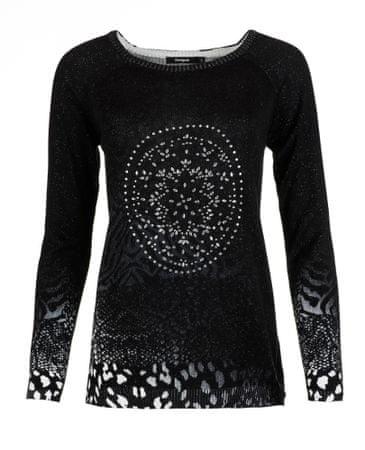 Desigual ženski džemper XS crna