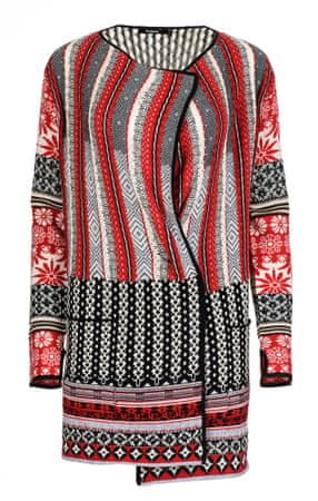 Desigual ženski pulover Call S rdeča