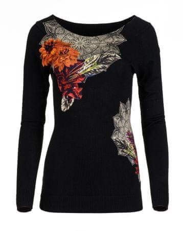 Desigual ženski pulover Aneta L črna