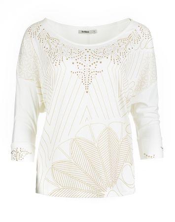 Desigual ženska majica Leti M bela