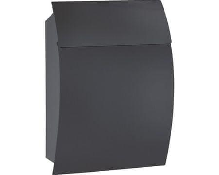 Rottner poštni nabiralnik Harrow, črn