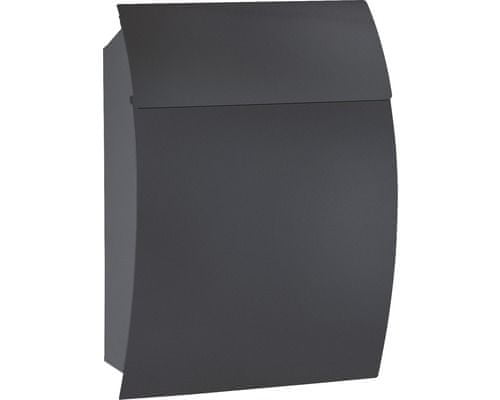 Rottner poštanski sandučić Harrow, crna