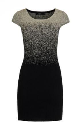 Desigual női ruha Heather L szürke