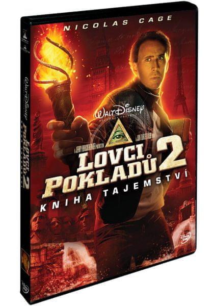 Lovci pokladů 2.: Kniha tajemství - DVD