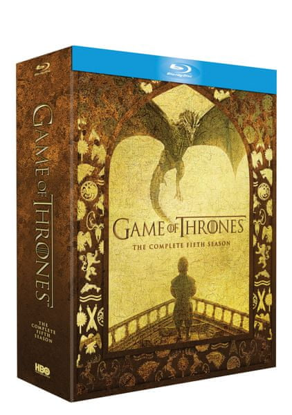 Hra o trůny / Game of Thrones - 5. série (4BD) - Blu-ray