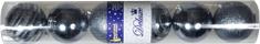 EverGreen Božični okraski krogle 6 kosov, modri