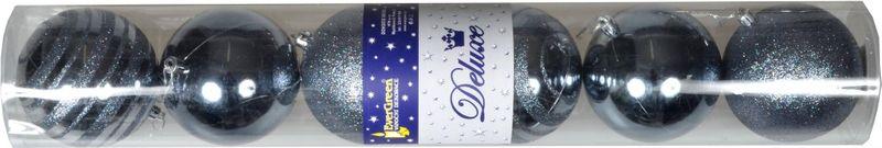 EverGreen Vánoční ozdoby koule 6 ks, modré