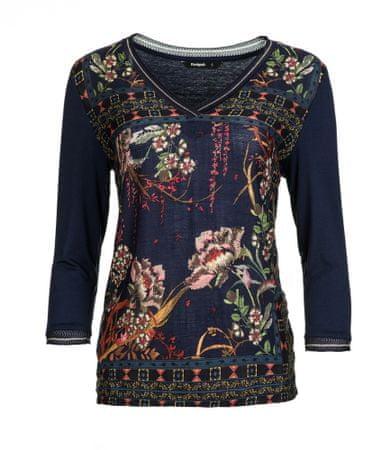 Desigual ženska majica Albania S temno modra