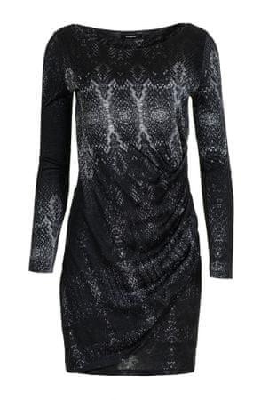 Desigual dámské šaty Bonnie S černá