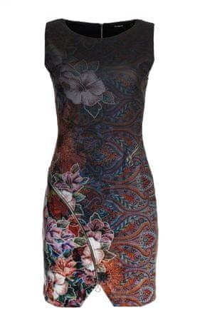 Desigual dámské šaty Tormenta S vícebarevná