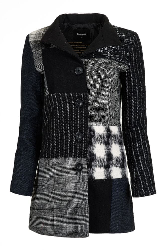 Desigual dámský kabát Rosita 38 černá - Diskuze  14ec8524fe
