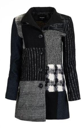 Desigual płaszcz damski Rosita 44 czarny