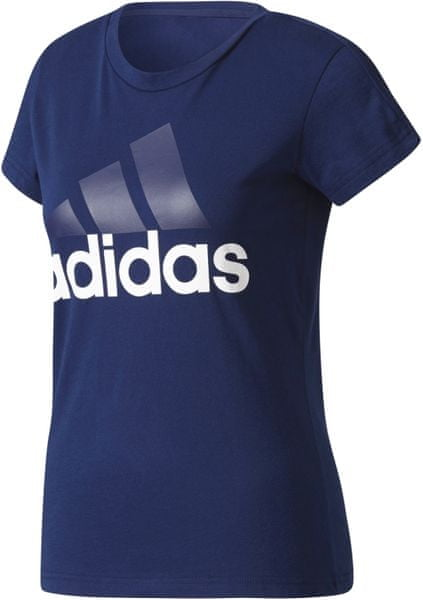 Adidas ESS Li Slim Tee Collegiate Navy/White 2XL