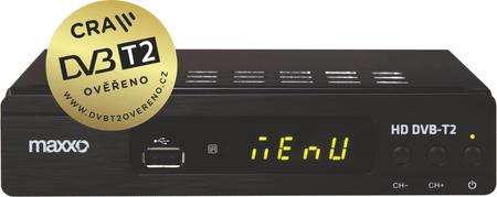 MAXXO T2 H.265 + Wi-Fi adaptér