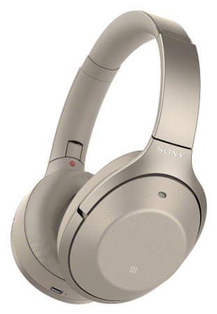 SONY słuchawki bezprzewodowe WH-1000XM2, złoty