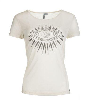 Rip Curl ženska majica Chaati L smetanasta