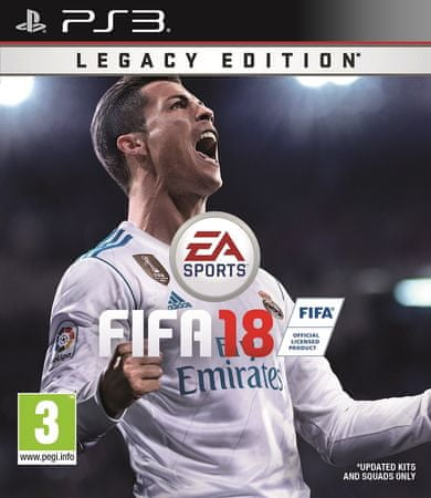 EA Games FIFA 18 - LEGACY EDITION PS3