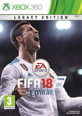 EA Games FIFA 18 - Legacy edition XBOX 360