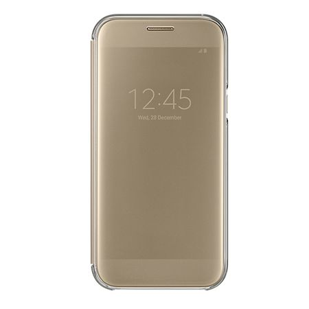 SAMSUNG Clear View Cover pro A5 2017 Gold EF-ZA520CFEGWW