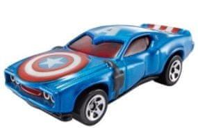Hot Wheels Marvel Kultowy samochodzik Kapitan Ameryka