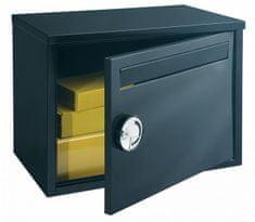 Rottner poštni nabiralnik za pakete Parcel Keeper, črn