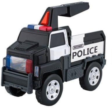 Mattel Świecąca ciężarówka Police