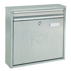 Rottner poštni nabiralnik Teramo, srebrn