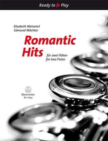 KN Romantic Hits for Two Flutes Škola hry na priečnej flaute