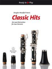 KN Classic Hits for two Clarinets Škola hry na klarinet