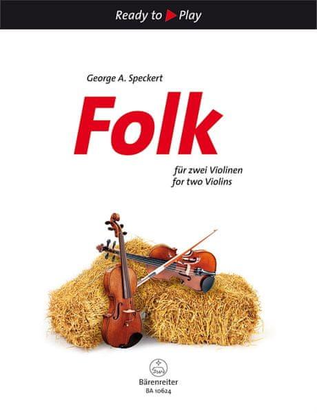 KN Folk for two Violins Škola hry na housle