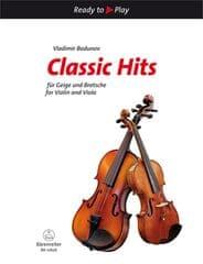 KN Classic Hits for Violin and Viola Škola hry na housle a violu