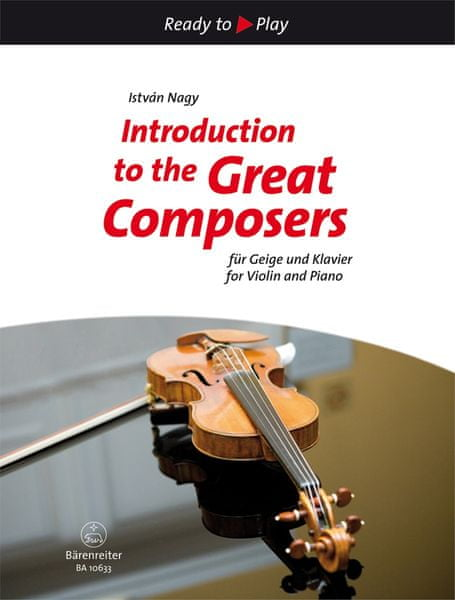 KN Introduction to the Great Composers for Violin and Piano Škola hry na housle