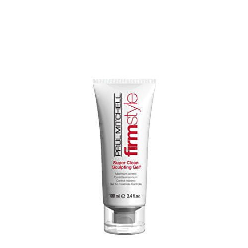 Paul Mitchell Hydratační gel na vlasy pro definici a tvar Firm Style (Super Clean Sculpting Gel) 200 ml
