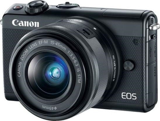 Canon EOS M100 + 15-45 mm Black