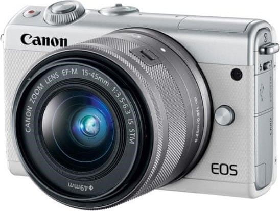 Canon EOS M100 + 15-45 mm White