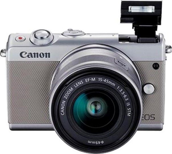 Canon EOS M100 + 15-45 mm Gray (2211C012)