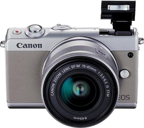 Canon EOS M100 + 15-45 mm Gray