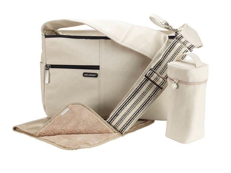 Melobaby MELOTOTE přebalovací taška krémová
