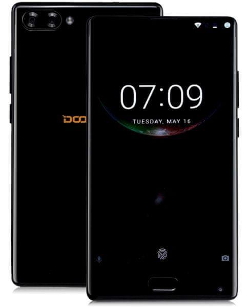 Doogee MIX 6GB/64GB, DualSIM, CZ LTE, bezrámečkový displej, černý