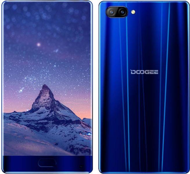 Doogee MIX 4GB/64GB, DualSIM, CZ LTE, bezrámečkový displej, modrý