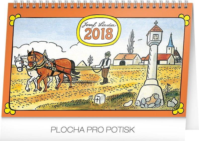 Stolní kalendář Josef Lada – Na poli 2018