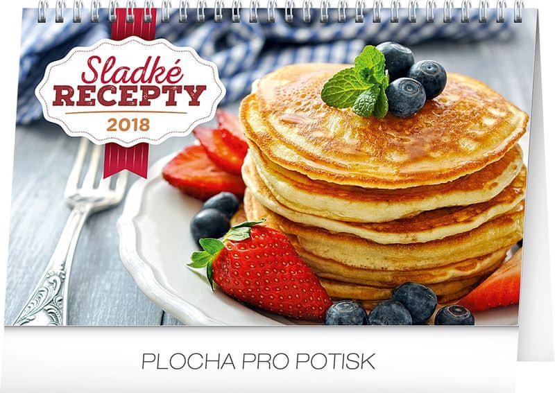 Stolní kalendář Sladké recepty 2018