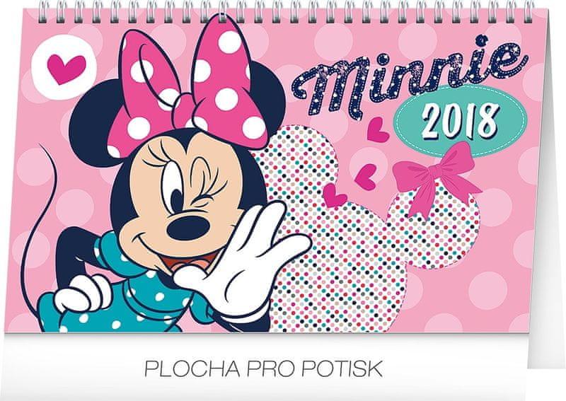 Stolní kalendář Minnie 2018