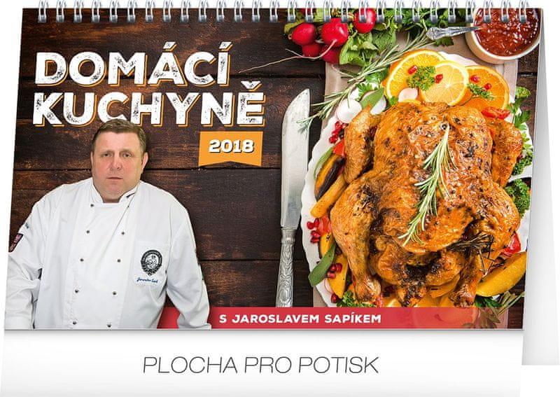 Stolní kalendář Domácí kuchyně 2018