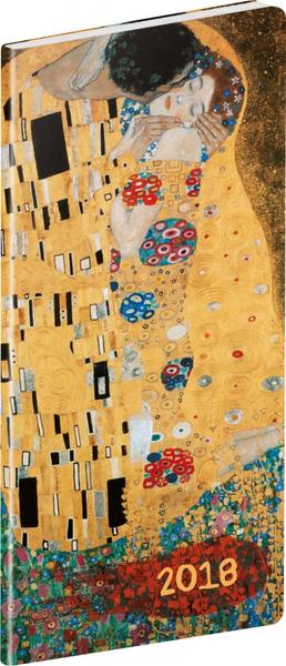 Kapesní diář Klimt 2018