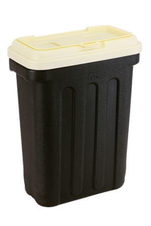 Maelson škatla za pasjo hrano Dry Box črna/krem, 3 kg