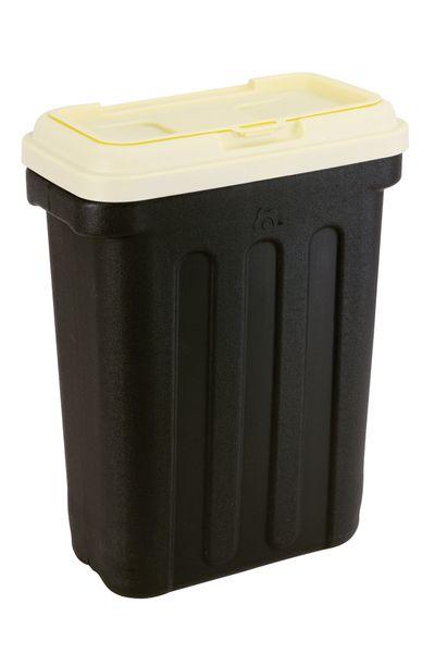 Maelson Box na granule Dry Box černá / slonovinová 3 kg