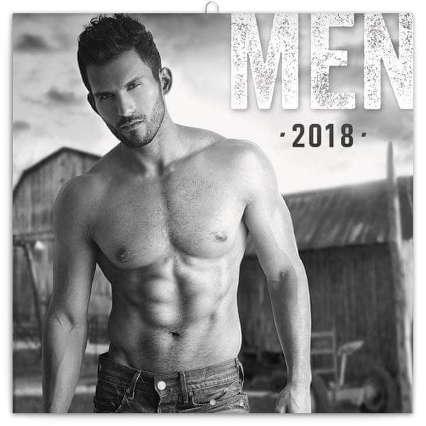 Poznámkový kalendář Muži 2018